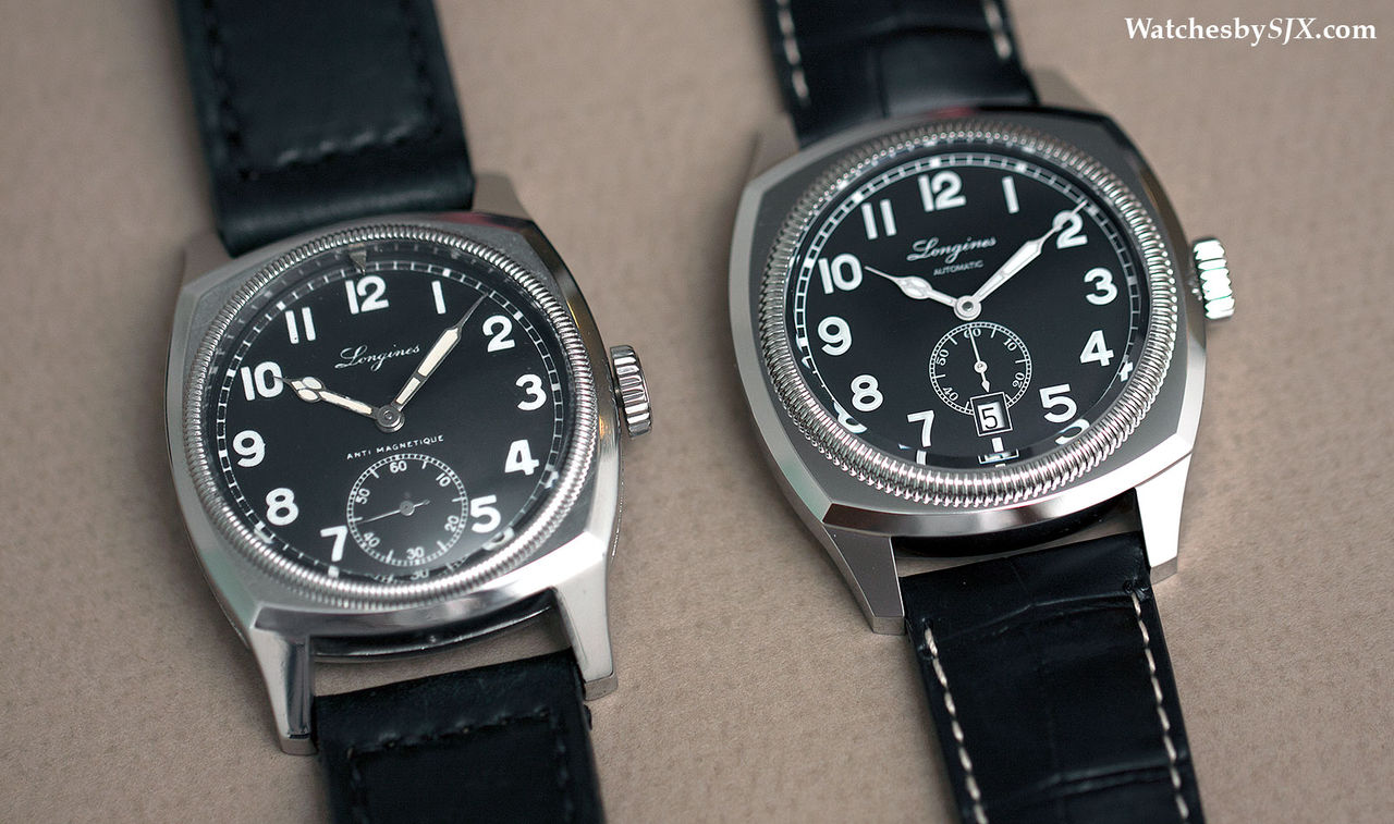 Longines Heritage 1935 and Czech Air Force comparison 1